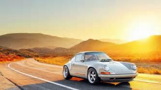 Porsche Singer Wallpaper Sonnenuntergang Hintergrundbilder Hd Hintergrundbilder