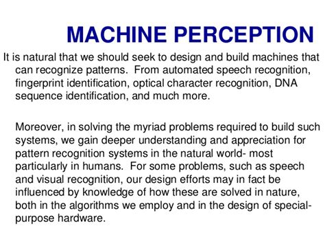 pattern recognition hardware pattern recognition and machine learning