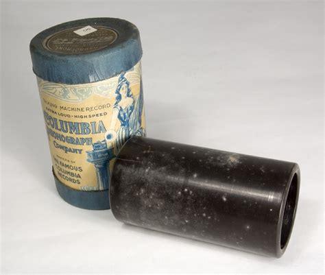 wax cylinder wax phonograph cylinder
