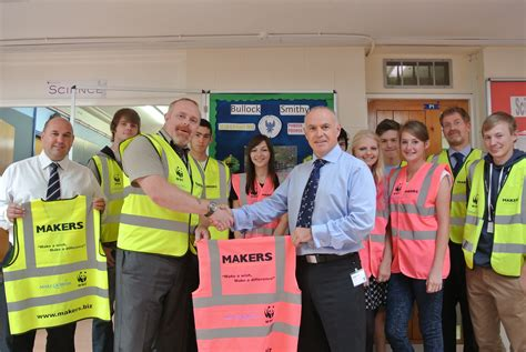 for school makers ensures high visibility for school charity trek