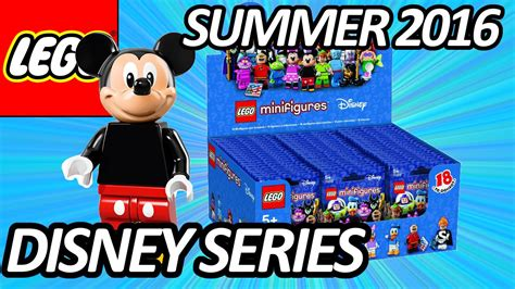 Lego Minifigures Disney Series Misp lego disney collectible minifigures series 71012 packaging pictures revealed レゴディズニー