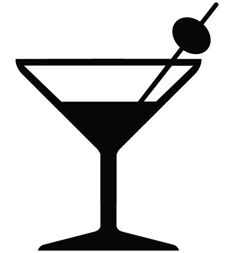 martini glasses vector free martini glass vector clipart best