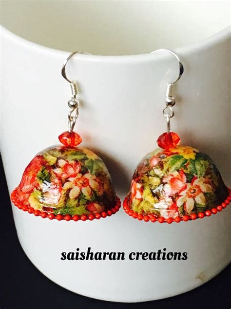 How To Make Paper Quilling Jhumkas - 17 best images about just jhumka s on black