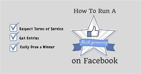 How To Run A Giveaway On Twitter - how to run a facebook flash giveaway pick a winner