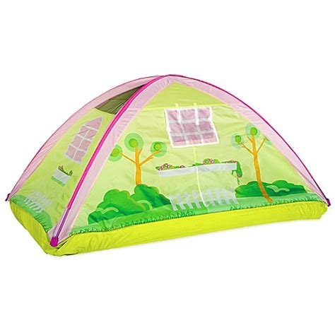 twin bed tent canopy pacific play tents cottage twin bed tent buybuy baby