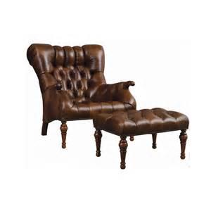 Leather Tufted Chair Leopold Chair Dau Furniture