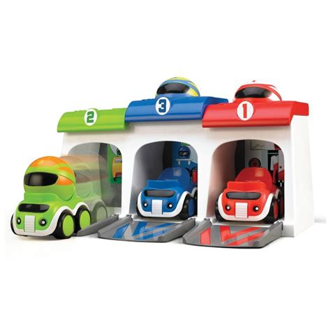 Car Garage Set by Race Cars Garage Toddler Activity Playset Educational