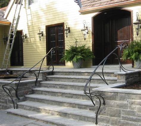 Outside Handrail peffers plane anvil ltd blacksmith cabinetmaker designer burlington ontario canada