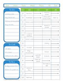 Organizing Schedule Template by Editable To Do List With Time Schedule Organizing Homelife