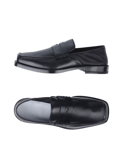 Maison Margiela Loafer maison margiela loafer in black for lyst