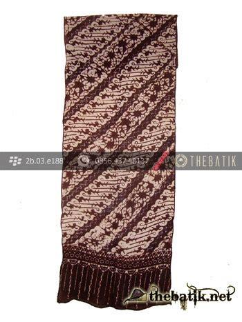 Syal Batik Batik jual syal batik motif parang ukel thebatik co id