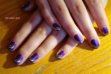 Deco Ongle Violet by Mi Nail Autodidacte En Nail Je Vous Pr 233 Sente Ici