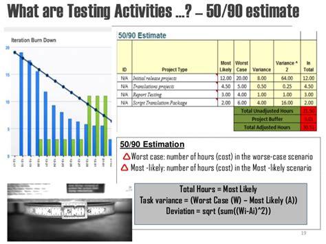 etl estimation template choice image templates design ideas