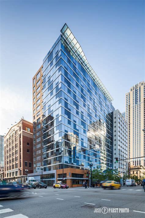 aloft hotel chicago architecture photography