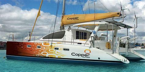 private catamaran in mauritius private full day catamaran cruise visit to port louis