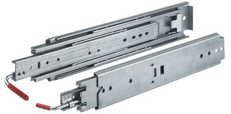 Industrial Drawer Slides by 18 Quot Locking Drawer Slides Extension 500 Lb 03338