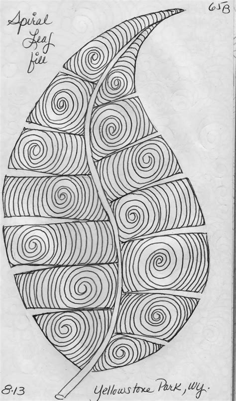 pattern design sketch luann kessi sketch book leaf designs 2