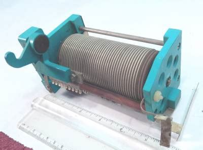 buy roller inductor rf power lifier variable roller inductor coil 34 uhy 400 watts ebay