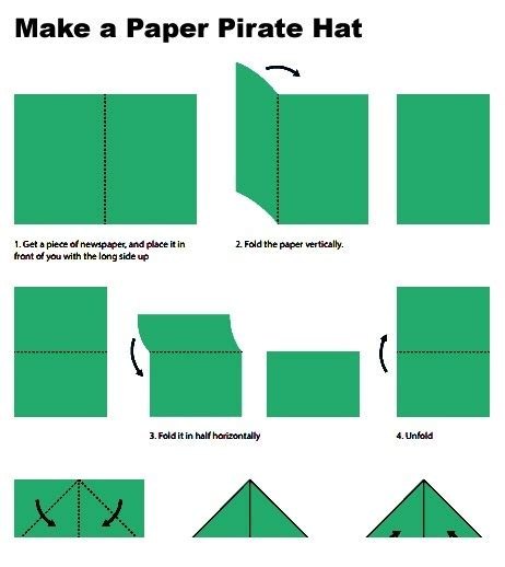 How To Make A Paper Paper - paper hat www pixshark images