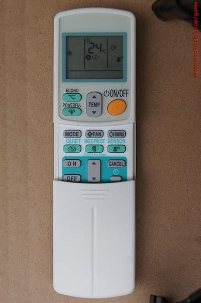 Ac Daikin Electronic City qoo10 daikin air conditioner remote arc433b47