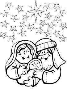 advent coloring pages nativity advent calendar