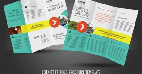 30 Contoh Desain Brosur Lipat Tiga 30 Trifold Brochure | 30 contoh desain brosur lipat tiga 30 trifold brochure