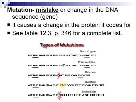 study guide chapter 12 section 4 gene regulation and mutations chapter 12 4 gene regulation mutation
