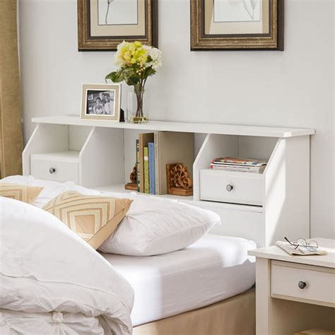 queen size headboard with shelves queen headboard with shelves including white home 2017