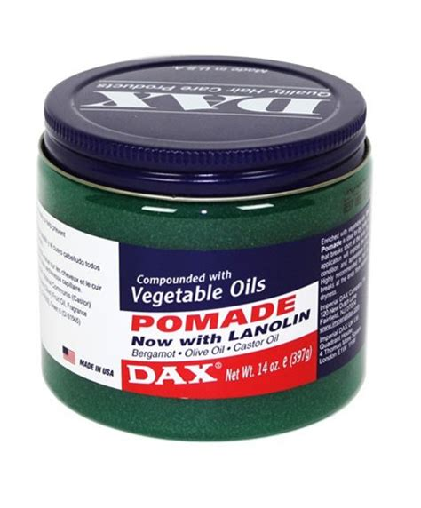 Pomade Dax imperial dax dax dax vegetable oils pomade with lanolin