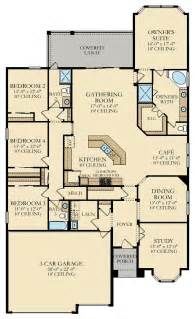 executive ranch floor plans new home plan in windward ranch executive