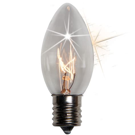 c9 christmas light bulb c9 twinkle clear christmas light