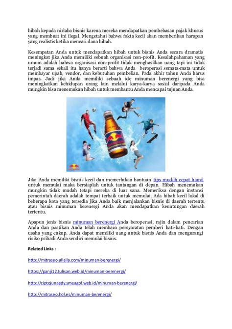 keuntungan membuat yayasan new minuman berenergi aman tidak berbahaya kratingdaeng