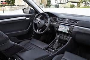 Tesla Grey Interior Fahrberichte Fahrbericht Skoda Superb 1 4 Tsi Style