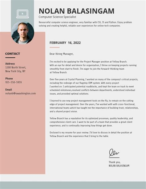 creative cover letter templates impress employers