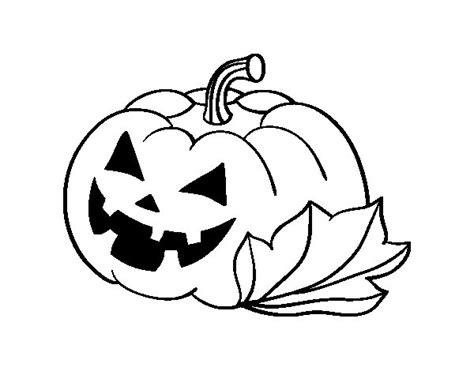 imagenes de calabazas de halloween para imprimir dibujo de calabaza decorada de halloween para colorear