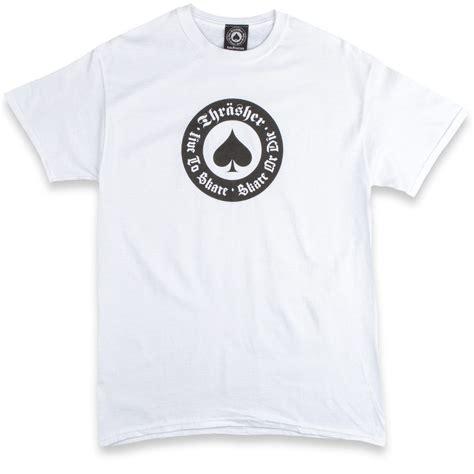 Tshirt Thrasher White thrasher oath t shirt white