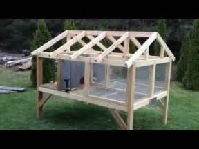plans to build a rabbit hutch for outside canadian rabbit hutch part one