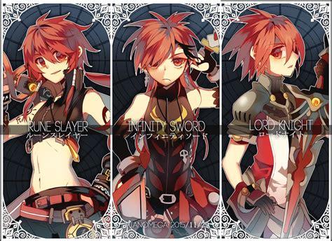 infinity anime infinity sword elsword fanart zerochan anime image board