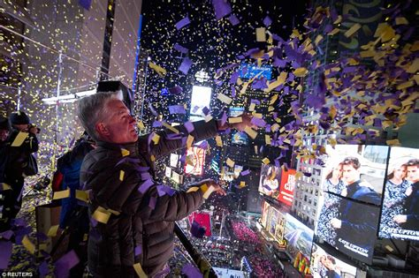 during new year 2015 thousands in times square to secure their spot for new