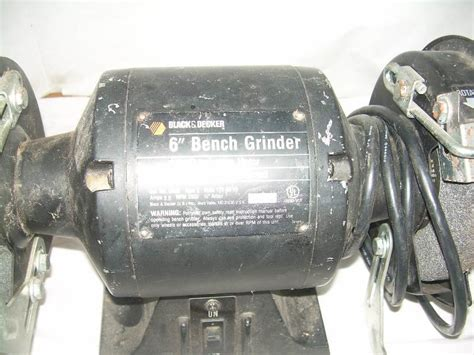 black and decker 6 inch bench grinder 6 quot bench grinder black and decker little bit of