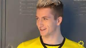 reus hairstyle name marco reus ist hei 223 auf die bundesliga saison youtube