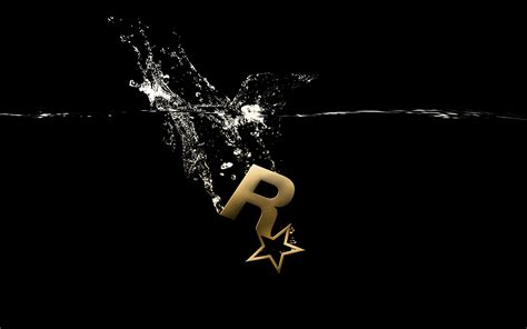 wallpaper logo game rockstar games logo wallpaper 2560x1600 69552