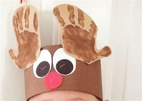 free printable reindeer headband free december activities and printable resources teach