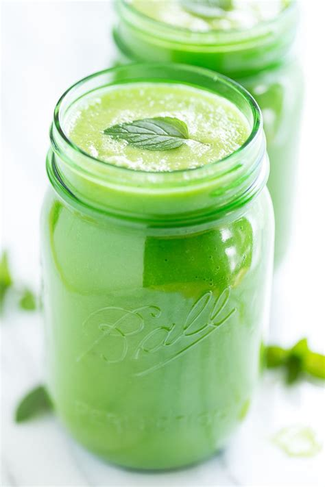 Pineapple And Cucumber Detox by Minty Pineapple Cucumber Green Smoothie Recipe Chang E
