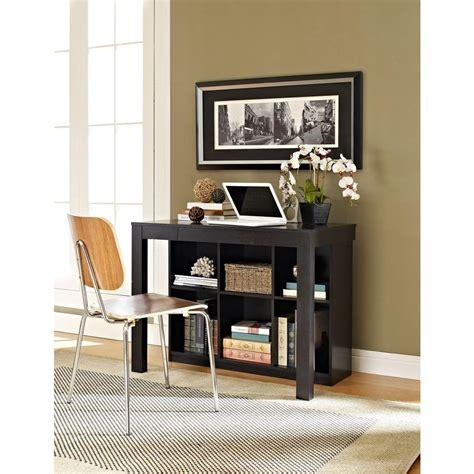 84 Inch Bookcase Altra Furniture Parsons Black Oak Desk 9394096 The Home