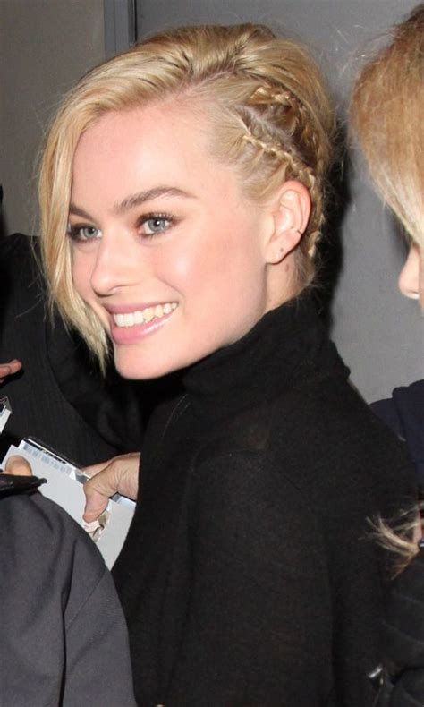 pictures of miss robbie many hairstyles margot robbie s sneaky side cornrow braids braid mania