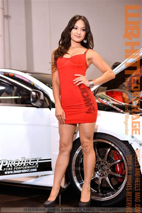 Heels Import 8 wheels and heels magazine w hm jdm sport models in bright dress created visual stunners