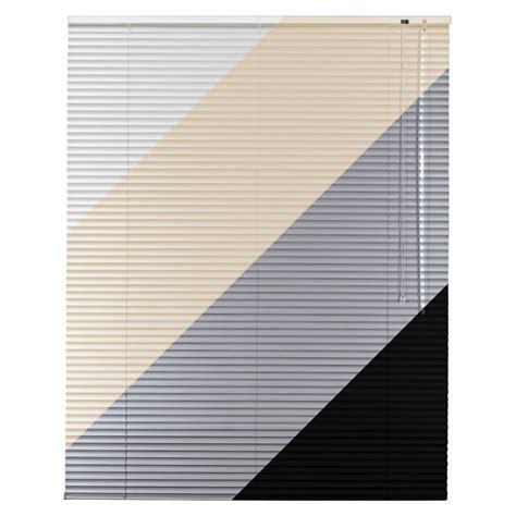 jalousie 200 cm breit alu aluminium jalousie in wei 223 creme silber schwarz