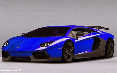 Blauer Lamborghini by 2015 Lamborghini Aventador Sv Cars Wallpapers Prices
