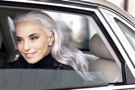 old hair at 59 yasmina rossi is nearly 60 and she s as beautiful as ever